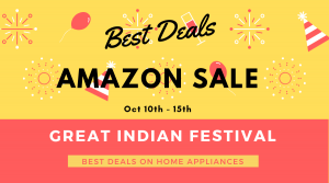 Amazon Diwali Offer Home Appliances